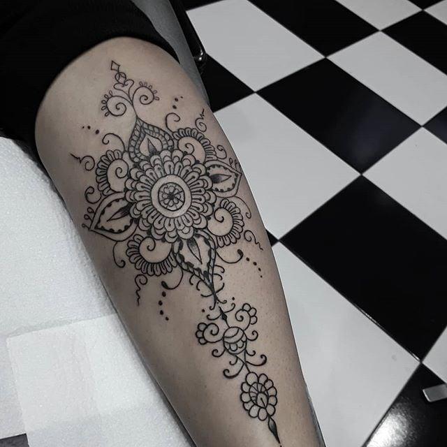 Tatuagem Feminina De Mandala Tattoomenu