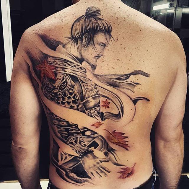 Tatuagem Masculina Nas Costas Tattoomenu