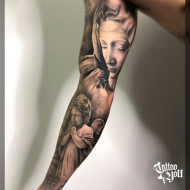 Tatuagem De Anjo Tattoomenu