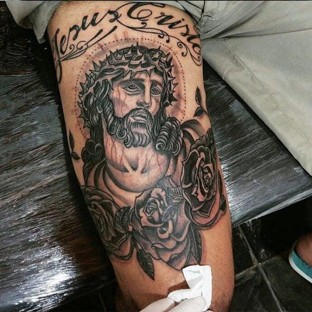 Tatuagem Masculina Na Coxa Tattoomenu