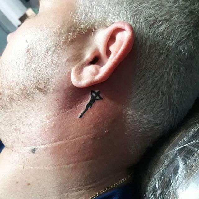 Tatuagem Atrás Da Orelha Tattoomenu