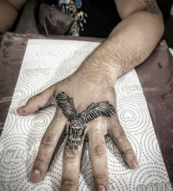 Tatuagem Masculina De Coruja Tattoomenu