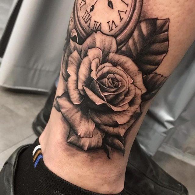 Tatuagem Masculina Na Perna Tattoomenu