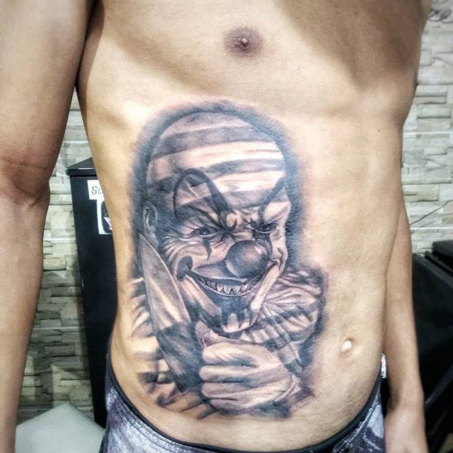 Tatuagem Masculina Na Barriga Tattoomenu